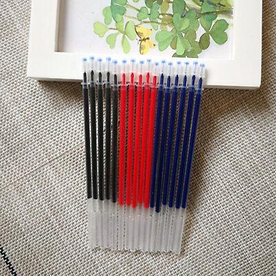 30pcs Color Gel Ink Replacement Point Pen Refill School Kids Office Classic Pens