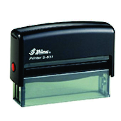 Shiny S-831 1 Line Self-inking Custom Stamp 100 Guaranteed