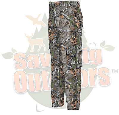 Walls Youth Kids 6 Pocket Cargo Pant Kidz Grow System Realtree Xtra Camo S SM ()
