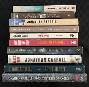 Jonathan Carroll Book Collection