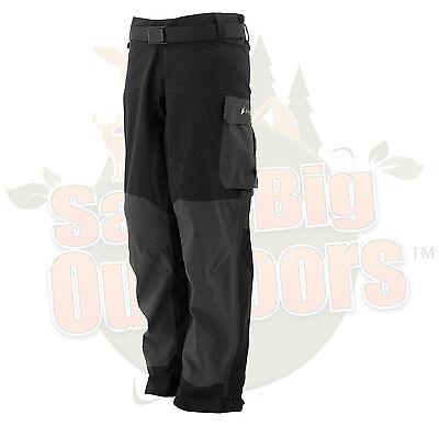 L LG Frogg Toggs Pilot Guide Rain Pants Black & Charcoal Gray  #PF83160-177LG