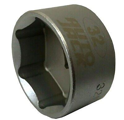 32mm Oil Filter Socket Tool Wrench 3/8