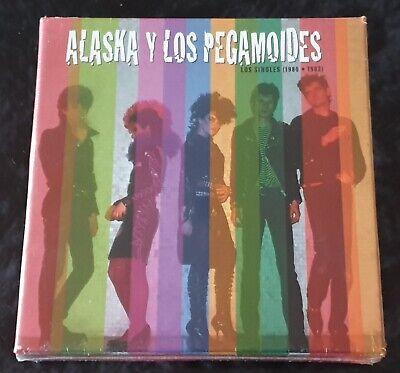 ALASKA Y LOS PEGAMOIDES SINGLES 1980-1982 BOX 6 CD-SINGLES PRECINTADO - FANGORIA