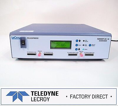 Teledyne LeCroy PETracer Z2-16 PCIe Gen 2 Exerciser | Factory Warranty