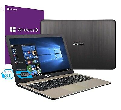 "Notebook Asus Vivobook 15,6"" AMD A6-9225 2,6GHZ RAM 4GB HD 500GB WINDOWS 10 PRO"
