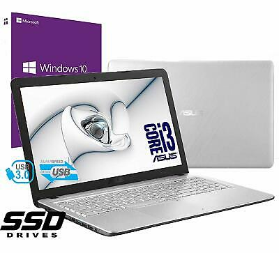 "Notebook Asus Vivobook PC 15.6"" Intel i3 Ram 8Gb SSD 480GB Win 10PRO Open Office"
