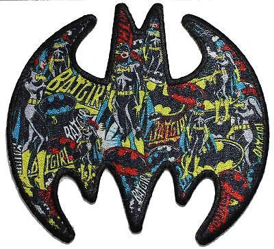 Batgirl Logo (Batgirl Logo Sublimation Iron On Patch - DC Comics Batman Superhero)