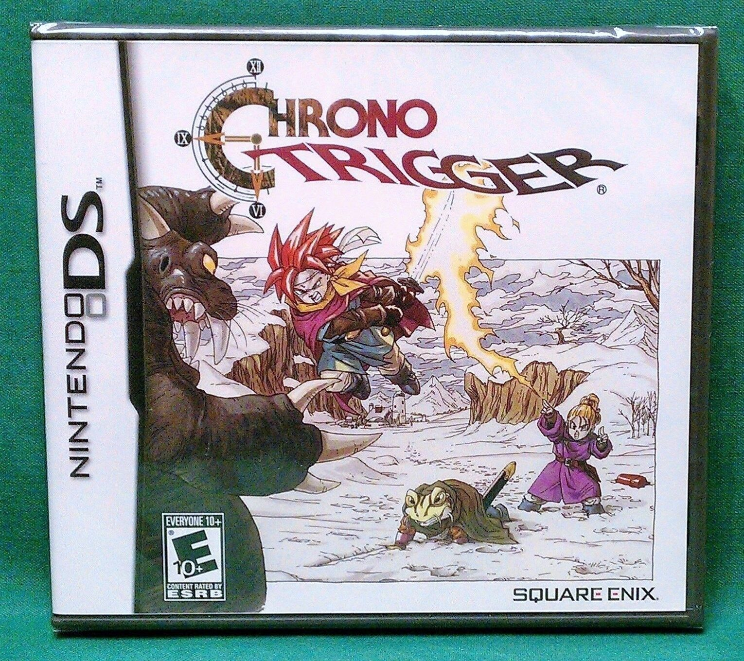 Chrono Trigger (nintendo Ds, 2008) Factory Sealed (3ds Co...