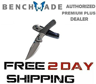 Benchmade HUNT Crooked River Gold Class DLC 20CV Damasteel Bolster 15080BK-191