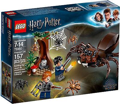 LEGO Harry Potter 75950 - Il Covo Di Aragog NUOVO