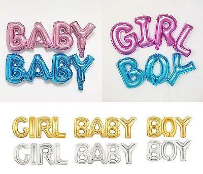1 Pc BOY GIRL Foil Balloon OH BABY Wild ONE Baby Shower Birthday Party Decor US (Baby Boy Birthday Decorations)