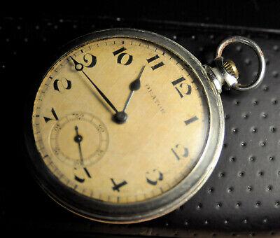 """Orator"" ~15J Rare Swiss caliber AM 480 Vintage c.1939's Pocket watch"