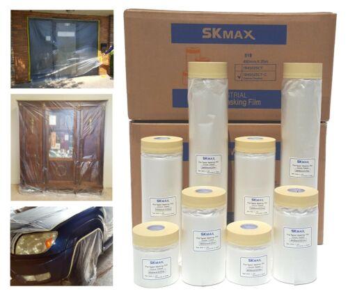SKmax Pre-Taped Masking Film, Painter