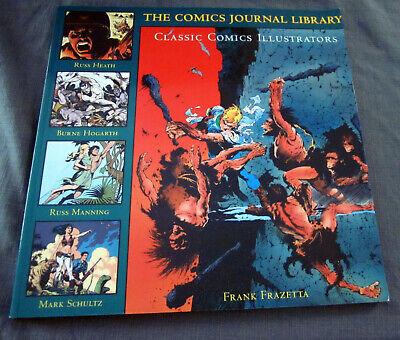 Comics Journal Classic Comics Illustrators Vol. 5: Frazetta, Heath, Manning, more