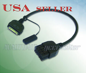 iPod iPhone Interface Cable for Nissan / Infiniti Headunit 284H2-Z750A