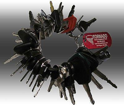42 Keys Heavy Equipment Construction Ignition Key Set