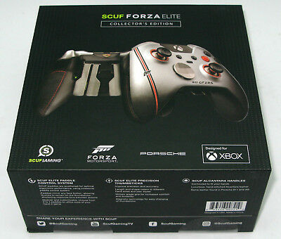 SCUF Forza 7 Elite Collector's Edition Leather Xbox One Controller Broken Seal for sale  Shipping to South Africa
