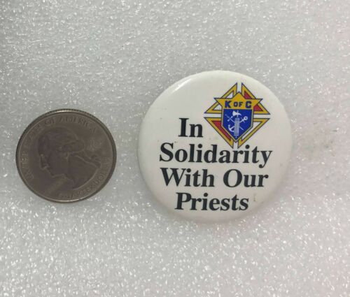 Knights Of Columbus - In Solidarity With Our Priests Pin