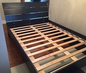 Queen Size Bed Frame and Slats