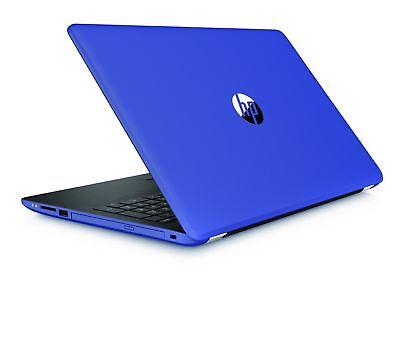 "HP 15.6"" TouchScreen Laptop AMD A12/8GB/1TB/Window 10/HDMI Gaming PC Bundle Blue"