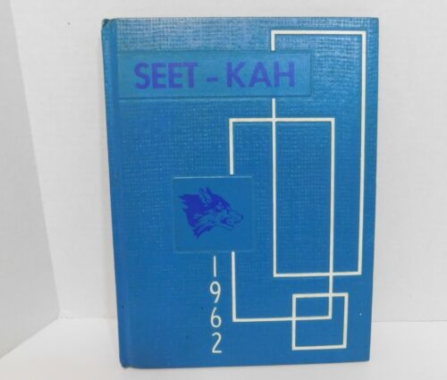 1962 Sitka Alaska SEET-KAH School Yearbook Grades K to 12th High School Unmarked