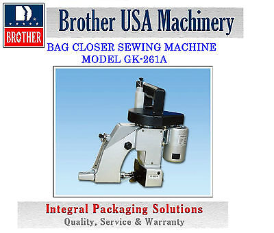 Bag Closer Sewing Machine Model Gk-261a For Industrial Use New 110v