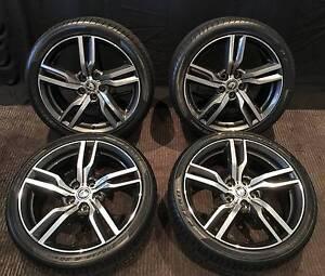 "GENUINE 20"" HSV VFII Clubsport R8 LSA Wheels with Pirelli PZero's Inglewood Stirling Area Preview"