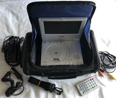 Portable DVD Player, Case & Accessories