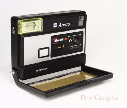 Vintage Disc Camera Ansco HR 30 Motor Driven 12.5mm - Works