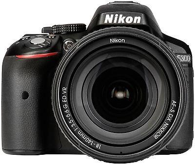 Digitale SLR-Kamera Nikon D5300 Kit schwarz + AF-S DX 18-140 VR
