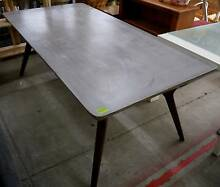 New Industrial Dane Smooth Grey Concrete Timber Dining Tables Melbourne CBD Melbourne City Preview