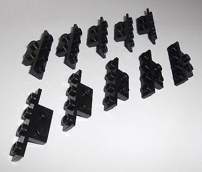 2436 10 Winkel 90° 1x4-1x2 Lego in schwarz aus 7171 7191 10188 7659 8039