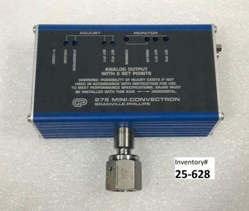 Granville Phillips 275871-EU 275 Mini Convectron Gauge (Used Working)