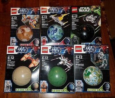 Lego Star Wars LOT Planet Series 75008 9674 9675 9677 9678 9679 Sealed Series 2