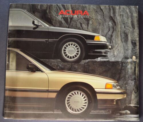 1988 Acura Legend Catalog Sales Brochure LS GS Coupe Sedan Nice Original 88
