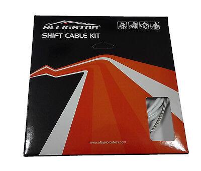 Set Completo Fundas y Cables de Cambio ALLIGATOR Sleek Glide para Bicicleta...