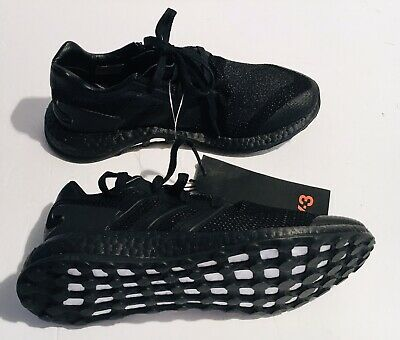 Adidas Y-3 Yohji Yamamoto Pure Boost Triple Black Shoes Mens US 6 D /Women's 7.5