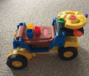 Tonka push and ride on toy