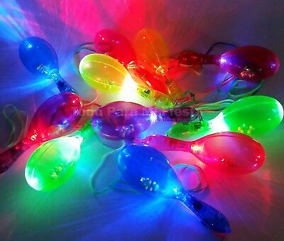 Maracas Toy Flashing LED  Flashing Blinking Toy For Kids Party Favors Gift Toys (Blinking Toys)