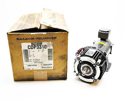 New Baldor Cdp3310 Motor .25hp 1750rpm W Warner Um-50-1040 Clutch 5370-271-204