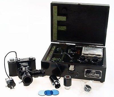 Olympus Pm-6 Microscope Camera Beam Splitter Emm-v Kit
