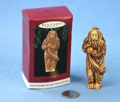 Cowardly Lion In Wizard Of Oz (Hallmark The Cowardly Lion Wizard of Oz Keepsake Ornament in Original Box)