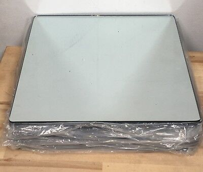 10 X Square Wedding Mirror Plates 30cm For Centrepieces. Cheapest On eBay!!