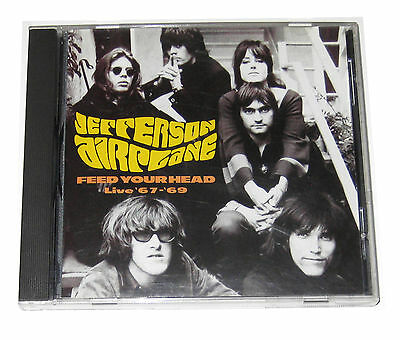 Cd  Jefferson Airplane   Feed Your Head  Live 1967 69  1996  Prism  Uk Import