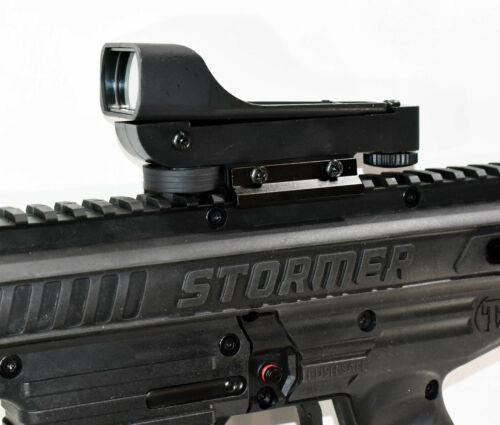 Trinity tactical sight for Tippmann Stormer paintball marker woodsball polymer.