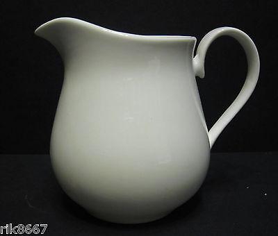 ¼ Cream Jug In Bulbous Shape White English Fine Bone China By Milton China China Cream Jug