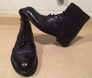Women's Intensi Leather Boots Size 9.5