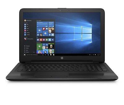 "New Sealed HP 15.6"" laptop/AMD Quad-core/4GB/500GB/DVDRW/Win10/HDMI/Webcam/Black"