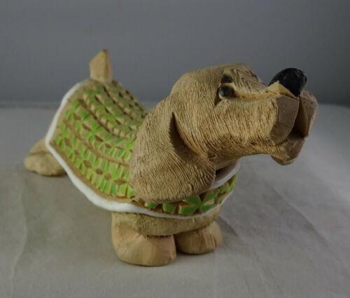 Rinconada Artesania Uruguay Art Pottery Dachsund Dog #107 Figurine