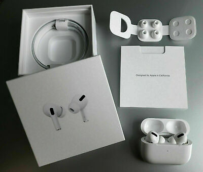 Sealed Apple AirPods Pro Air Pods Wireless Charging Case Bluetooth MWP22AM/A US*